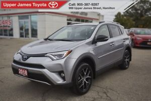 2018 Toyota RAV4 Hybrid SE HYBRID AWD SE LOADED, WON'T LAST!