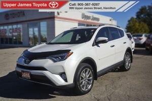 2016 Toyota RAV4 Limited LIMITED AWD TECH SUPER RARE!