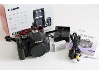 Canon EOS 550D DSLR Digital Camera Body & Genuine BG-E8 Battery Grip