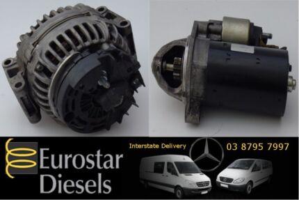 Mercedes Vito and Sprinter Alternators and Starter Motors