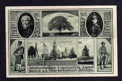102948 AK Liegnitz 1913 PP 27 Hundertjahrfeier Katzbachschlachtfeld Blücher Prin
