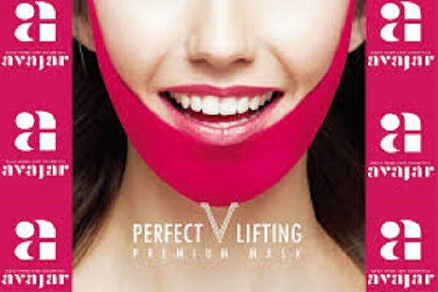 AVAJAR Perfect V Lifting Premium Mask / Korea Cosmetic face lift mask beauty