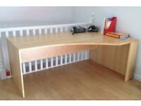 Desk - Solid wood, Martin & Frost high quality, versatile office desk. Great condition.