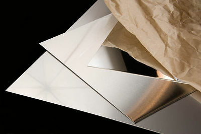 Alloy 430 Mirrored Stainless Steel Sheet 20 Ga -24 X 24