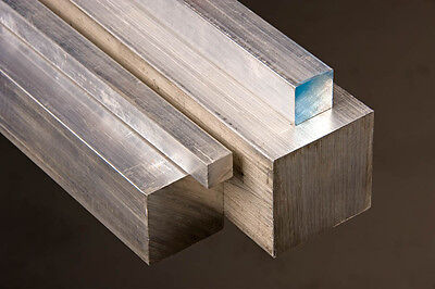 Aluminum Square Bar 6061-t6 .75 X .75 X 36