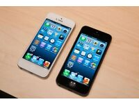 IPHONE 5 16GB WHITE/BLACK UNLOCKED GOOD CONDITION WITH RECEIPT