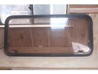 Van, caravan, motorhome double glazing window