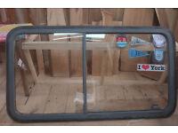 Van caravan motorhome sliding window