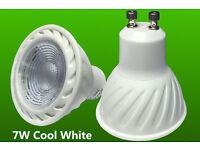 7W / 6.5W GU10 LED Bulb Spot Light Lamp Daylight Cool White / Warm White, Non-Dimmable