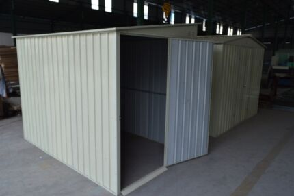 1.5m x 2.4m Skillion Roof Shed