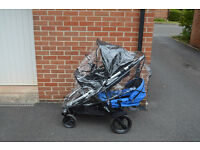Britax B-Dual Double Buggy hardly used