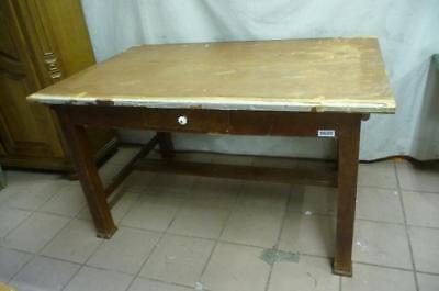 0680. Alter Biedermeier Tisch Küchentisch shabby chic