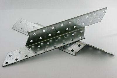 (0,59€/Paar) Sparrenpfettenanker 250mm links & rechts verzinkt 25 Stk.