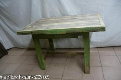 8700. Schöner alter Biedermeier Tisch shabby ausziehbar Platte: Nussbaum massiv
