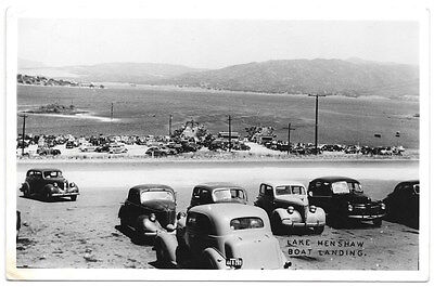 RPPC Automobiles at Lake Henshaw Boat Landing in Santa Ysabel, California~104850