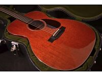 Collings acoustic guitar OM1 MH SS