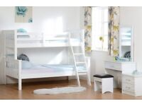 Delivering now New strong white wood Triple bunk beds £279 AVAILABLE TODAY