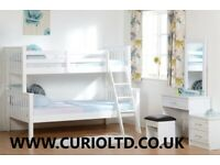 New strong white wood Triple bunk beds £299 AVAILABLE TODAY last few