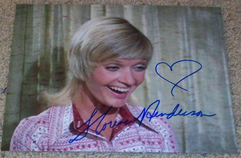 FLORENCE HENDERSON SIGNED THE BRADY BUNCH 8x10 PHOTO A w/PROOF AUTOGRAPH