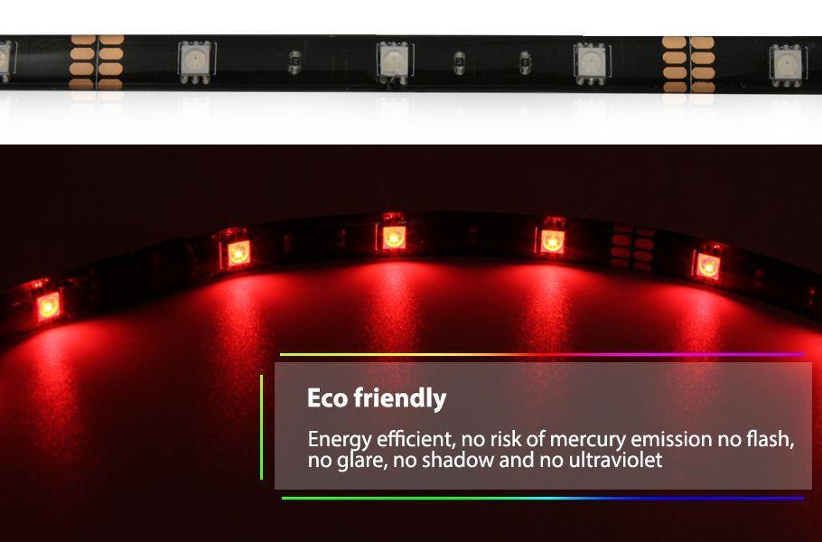 Rgb Led Home Theater Accent Lighting Kit Color Changing Led Light Strip Kit Ebay