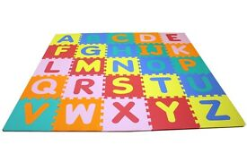 Foam Pieces Alphabet and Number Mat, Baby Interactive Educational Toy