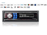 Alpine 4x60W Stereo car radio CD/ MP3 / WMA / AAC Receiver / Ipod / Bluetooth Ready / AUX-In Ready