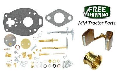 John Deere 1010 Tractor Carburetor Repair Kit Float Venturi - Tsx860 Carb