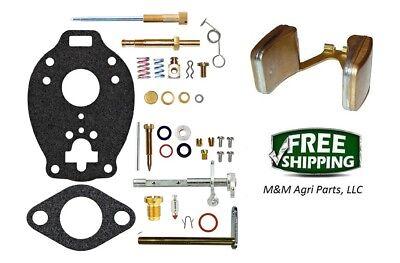 Complete Carburetor Kit Case Ih V Va Vac Allis Chalmers B C Ca Tractor