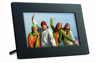 GiiNii GT-7AWP 7-Inch Flatscreen Digital Picture Frame - Black (GT-7AWP-1)