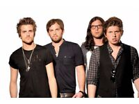 KINGS OF LEON - DOWNSTAIRS STANDING - MANCHESTER ARENA - FRI 09/06 - £85!