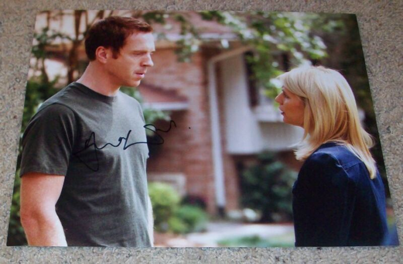 DAMIAN LEWIS HOMELAND SIGNED AUTOGRAPH 11x14 PHOTO B w/PROOF NICHOLAS BRODY