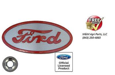 8n Ford Tractor Hood Emblem Badge 8n16600b 8n16600a - 1947 - 1952