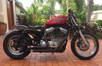 Harley sportster for sale motorcycles gumtree australia free harley davidson sportster xl883 bobber fandeluxe Images