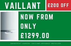 £200 OFF ALL VAILLANT BOILER REPLACEMENT PACKAGES/Installation, Service, Heating, Gas Engineer