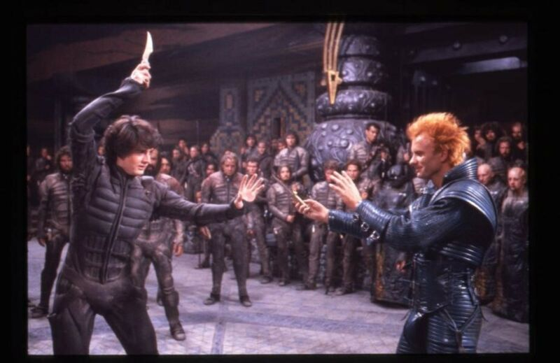 Dune Kyle MacLachlan Sting fight scene Original 35mm Transparency stamped mount