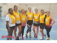Play social netball in Clapham - loads of fun!