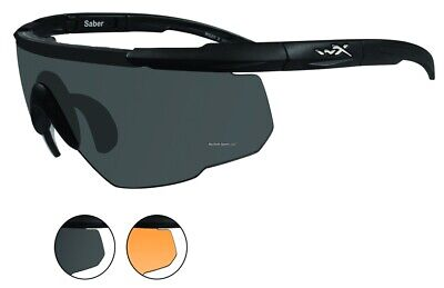 New Wiley-X Saber Advanced Changeable Sunglasses 2 Lens 306 (Wiley X Saber Advanced Sunglasses)