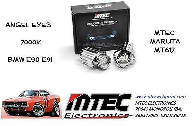 Mtec Maruta MT612 MT-612 Angel Eyes 7000K BMW E90 E91 Angel Eyes Weiß Eis