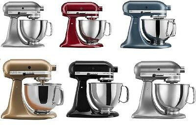 KitchenAid Stand Mixer tilt 5-QT rrk150 Ksm150ps Artisan Tilt Many Colors Choose