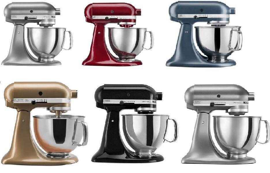 kitchenaid-stand-mixer-tilt-5-qt-rrk150-ksm150ps-artisan-tilt-many-colors-choose