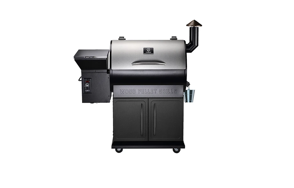 Z Grills 700E Pellet Grill with FREE Cover and Gloves