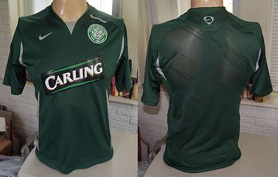 CELTIC FC SOCCER JERSEY SMALL 2007 Nike Scotland/Glasgow Football Away Kit shirt image