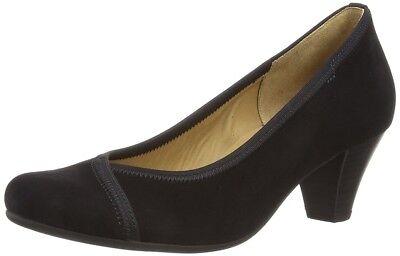 Gabor Damen Shoes 95.484.17 Samtchevreau Schwarz  EU Größe 37 NEU OVP