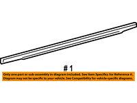 Rear Door Window Sweep-Belt Molding Weatherstrip Left 55399163AC