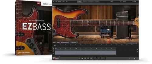Toontrack EZBass - Virtual Bass Guitar Software - ESD