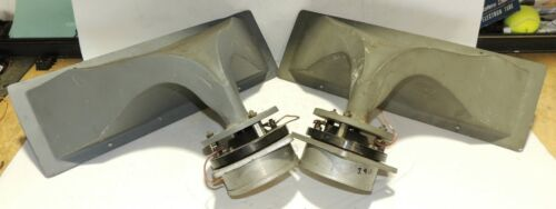 One Pair Western Electric KS-14706 Horns & KS-14704 Drivers Excellent Condition