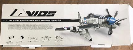 Wanted: RC Plane 1200mm Sea Fury FB11 EPO Warbird