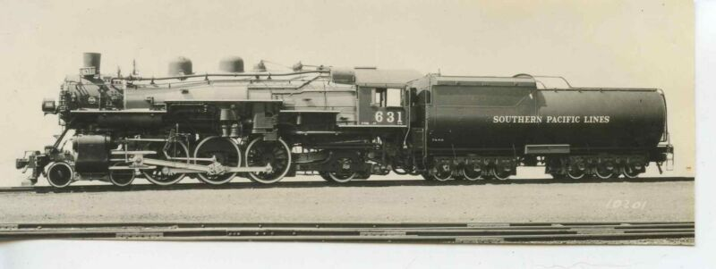 7E535 RP 1930s? SOUTHERN PACIFIC RAILROAD ENGINE #631