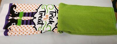 SET OF 2 DIFFERENT MICROFIBER TOWELS (14
