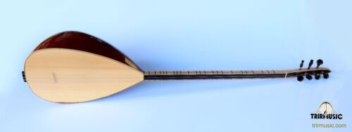 TURKISH PROFESSIONAL LONG NECK MAHOGANY BAGLAMA SAZ FOR SALE HSSL-101